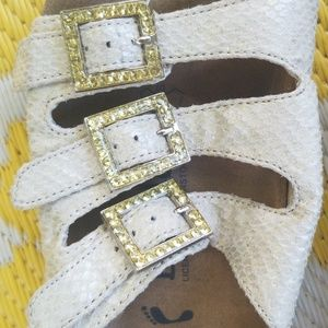 Birkenstock Shoes - Betula by Birkenstock 38 sandals with gold accents